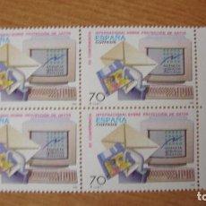 Sellos: ESPAÑA 1998 EDIFIL 3555 BLOQUE 4 NUEVOS PEFECTOS. Lote 195978063