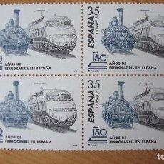 Selos: ESPAÑA 1998 EDIFIL 3591 BLOQUE 4 NUEVOS PEFECTOS. Lote 195979963