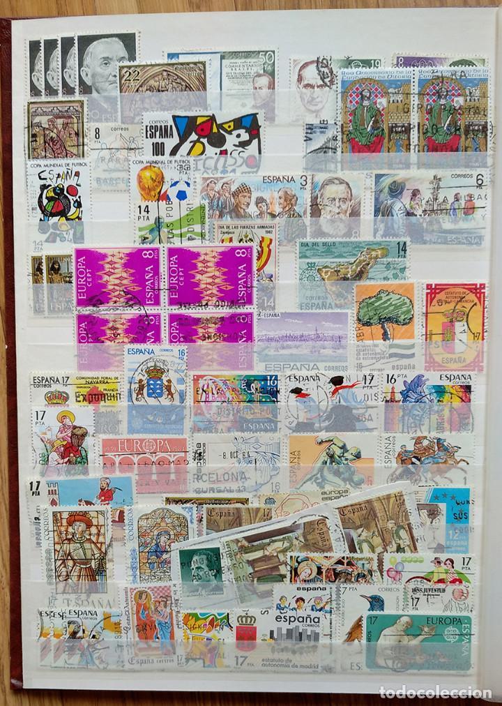 Sellos: Lote. Álbum con más de 500 sellos de España usados. VER FOTOGRAFÍAS - Foto 5 - 196269017