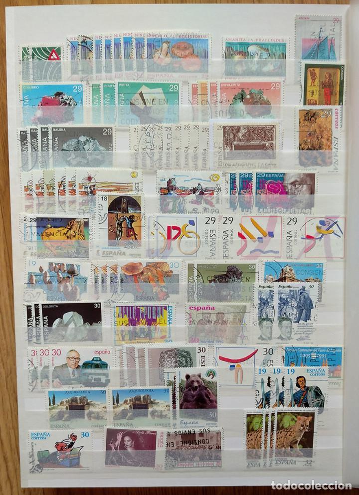 Sellos: Lote. Álbum con más de 500 sellos de España usados. VER FOTOGRAFÍAS - Foto 7 - 196269017