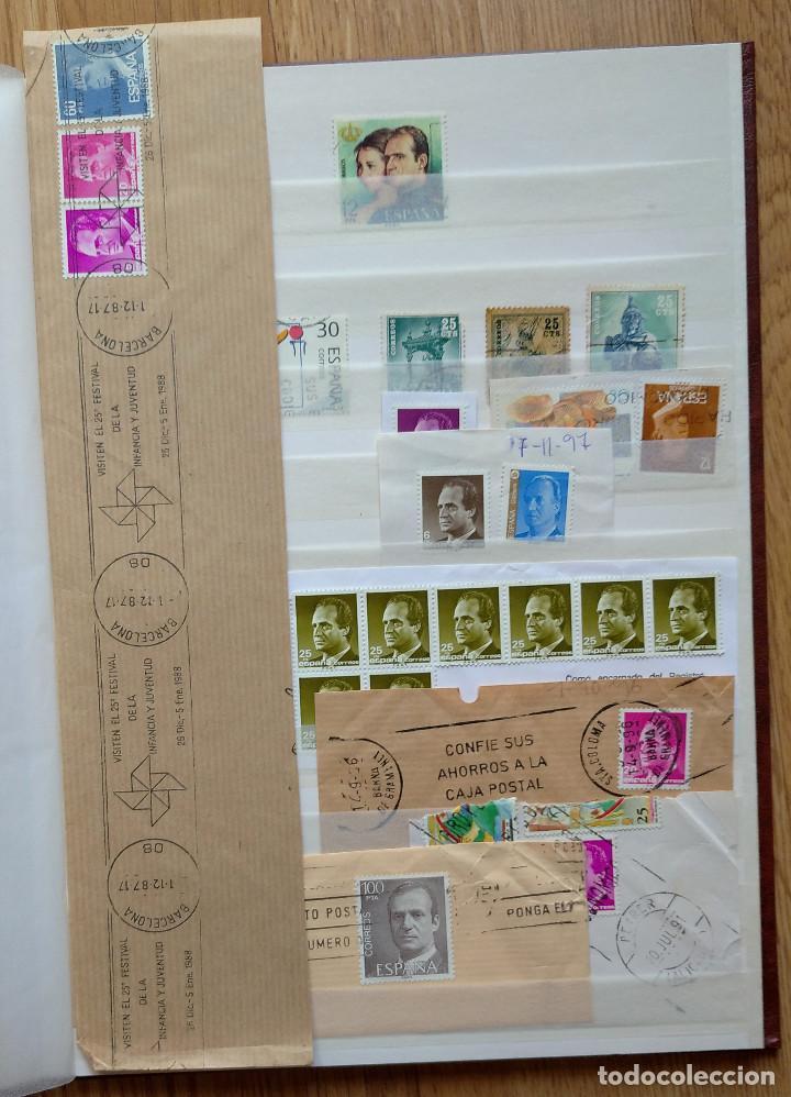 Sellos: Lote. Álbum con más de 500 sellos de España usados. VER FOTOGRAFÍAS - Foto 8 - 196269017