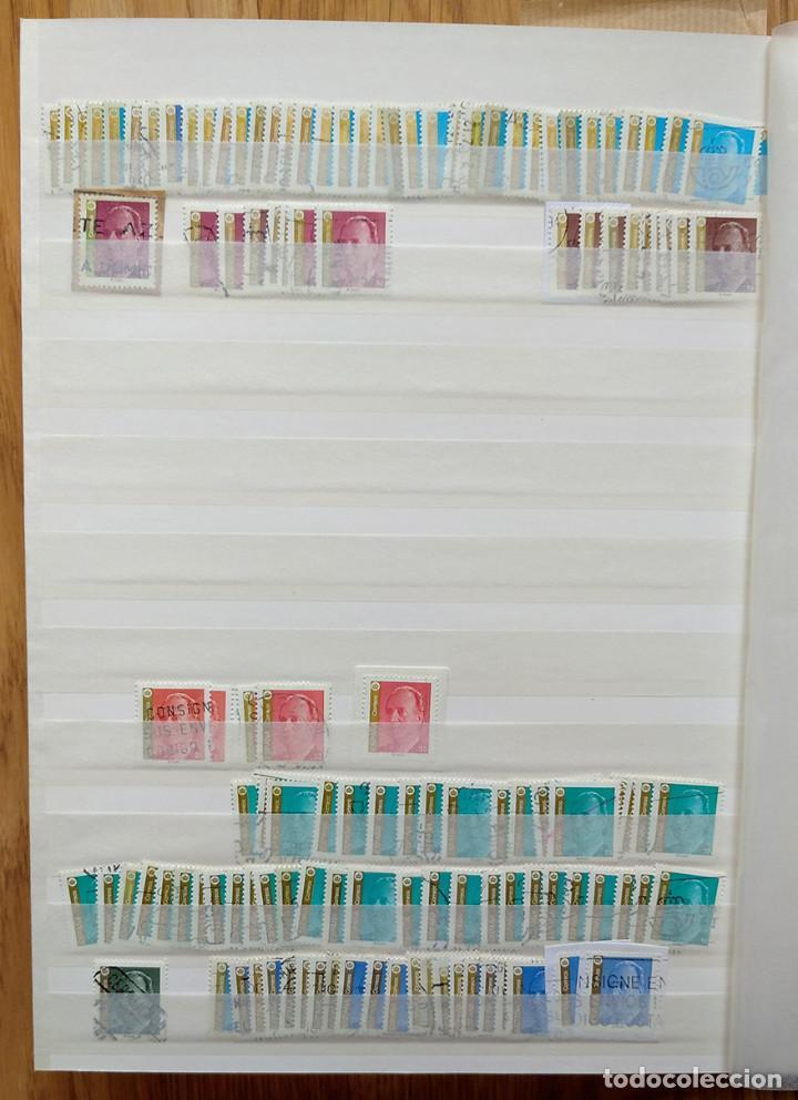 Sellos: Lote. Álbum con más de 500 sellos de España usados. VER FOTOGRAFÍAS - Foto 9 - 196269017