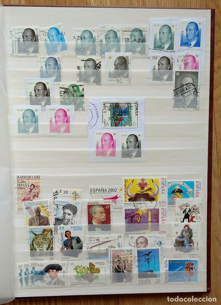 Sellos: Lote. Álbum con más de 500 sellos de España usados. VER FOTOGRAFÍAS - Foto 10 - 196269017