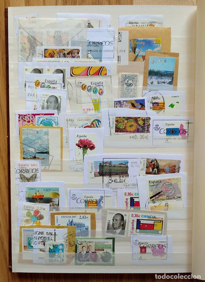 Sellos: Lote. Álbum con más de 500 sellos de España usados. VER FOTOGRAFÍAS - Foto 11 - 196269017