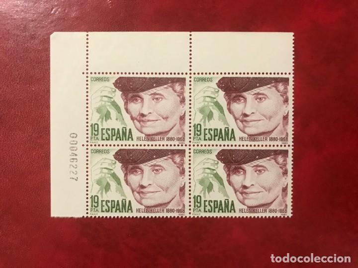 ESPAÑA 1980 EDIFIL 2574** MNH BLOQUE DE 4 (Sellos - España - Juan Carlos I - Desde 1.975 a 1.985 - Nuevos)