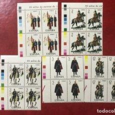 Selos: ESPAÑA 1978 EDIFIL 2451/5** MNH BLOQUE DE 4. Lote 196372018