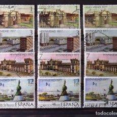 Sellos: 2439-42, TRES SERIES EN USADO. GUATEMALA.. Lote 196627253