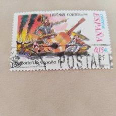 Sellos: SELLO HISTORIA DE ESPAÑA II HERNAN CORTES ESPAÑA. Lote 196631672