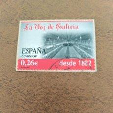 Sellos: SELLO LA VOZ DE GALICIA ESPAÑA. Lote 196635776