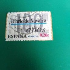 Sellos: SELLO 100 AÑOS DIARIO DE NAVARRA ESPAÑA . Lote 196982370
