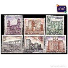 Timbres: ESPAÑA 1977. EDIFIL 2417-22 2422. SERIE TURÍSTICA. XI GRUPO. NUEVO** MNH. Lote 197442777