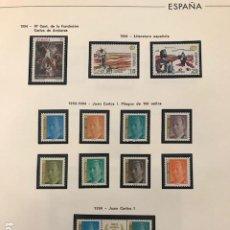 Sellos: ESPAÑA 1994 COMPLETO Y SUPLEMENTO HOJAS EDIFIL AÑO 1994 FILOESTUCHES EN NEGRO HES90. Lote 197485507