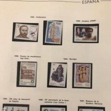 Sellos: ESPAÑA SELLOS AÑO 1998 COMPLETO CON HOJAS EDIFIL MP EPISTOLAR Y MEDIA CABALLOS HES90. Lote 197487002