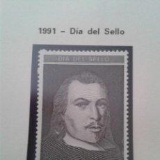 Timbres: SELLOS ESPAÑA 1991. EDIFIL 3110. DÍA DEL SELLO. NUEVO. NUEVO. Lote 197501831