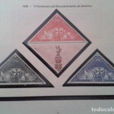 Timbres: ESPAÑA 1992. V CENTENARIO DEL DESCUBRIMIENTO DE AMÉRICA. 3163. NUEVO. Lote 197509082