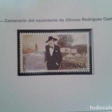 Timbres: SELLOS ESPAÑA 1986. EDIFIL 2873 I CENTENARIO DEL NACIMIENTO DE CASTELAO. . NUEVO. Lote 197634978