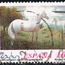 Sellos: EDIFIL 3682, CABALLOS CARTUJANOS (ESPAÑA 2000), USADO. Lote 198026720