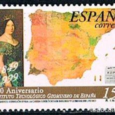 Sellos: EDIFIL 3654, 150 ANIVERSARIO DE LA COMISION DE LA CARTA GEOLOGICA DE MADRID, NUEVO ***. Lote 198027480