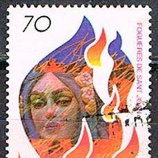 Sellos: EDIFIL 3542, FIESTAS POPULARES: HOGUERAS DE SAN JUAN EN ALICANTE, USADO. Lote 198106426