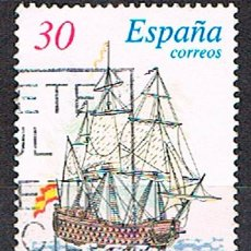 Sellos: EDIFIL 3415, BARCOS DE EPOCA: NAVIO REAL PHELIPE, USADO. Lote 198143368
