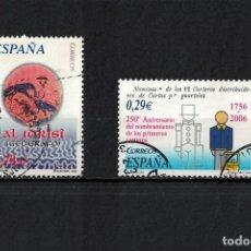 Timbres: ESPAÑA EDIFIL Nº 4249 + 4276 AÑO 2006 - 2 SERIES COMPLETAS. Lote 198397081