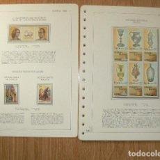 Sellos: SELLOS DE ESPAÑA 1988. Lote 198641388