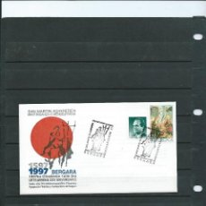 Sellos: SOBRE CON MATASELLO ESPECIAL DE LA EXPO. FILA. DE BERGARA DEL CURA SAN MARTIN AGIRRE DEL AÑO 1997. Lote 198683186