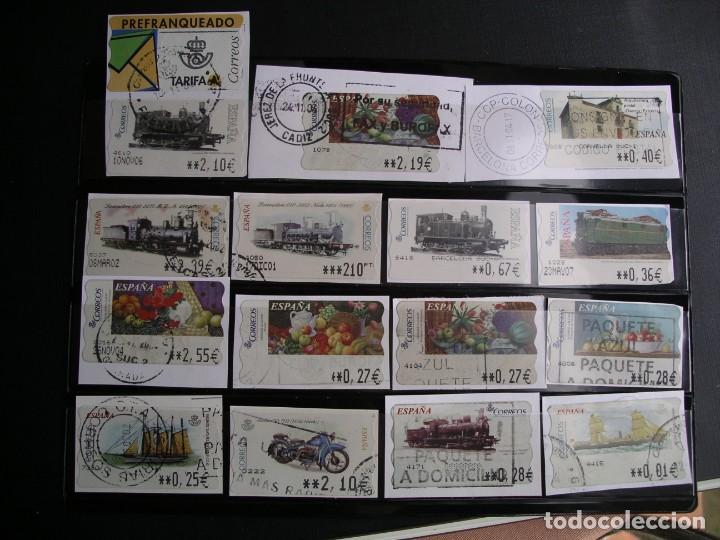ATM (Sellos - España - Juan Carlos I - Desde 2.000 - Usados)