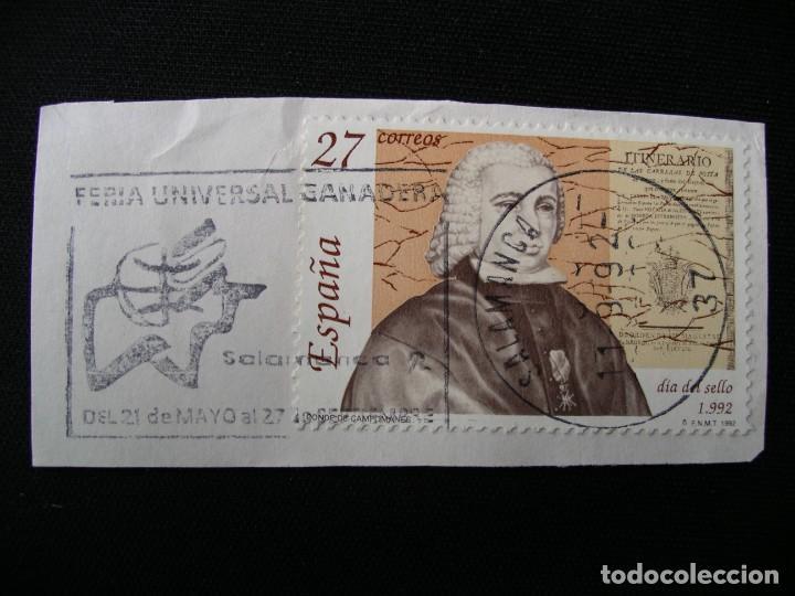 SELLO CON MATASELLO (Sellos - España - Juan Carlos I - Desde 2.000 - Usados)