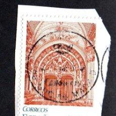 Sellos: SELLO USADO ESPAÑA CATEDRAL DE OVIEDO HOJA BLOQUE EDIFIL NUM. 4736 AÑO 2010. Lote 198942566