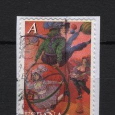 Sellos: TV_001/ ESPAÑA USADOS 2005, EL CIRCO. Lote 199088428