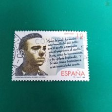 Selos: SELLO LITERATURA ESPAÑOLA PERSONAJES DE FICCIÓN EL NIÑO YUNTERO ESPAÑA. Lote 199105131