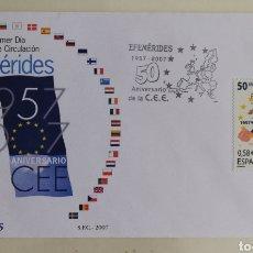 Timbres: ESPAÑA - S. P. D 4319 EFEMÉRIDES 2007 (FOTOGRAFÍA REAL). Lote 199146817