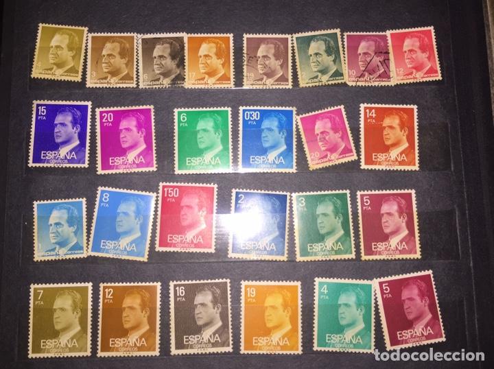 Sellos: Lote 44 Sellos Juan Carlos I - Foto 2 - 199159557