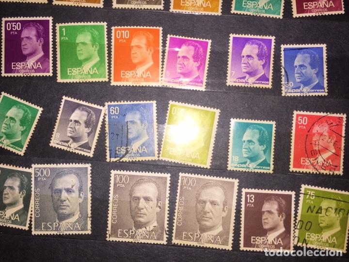 Sellos: Lote 44 Sellos Juan Carlos I - Foto 3 - 199159557