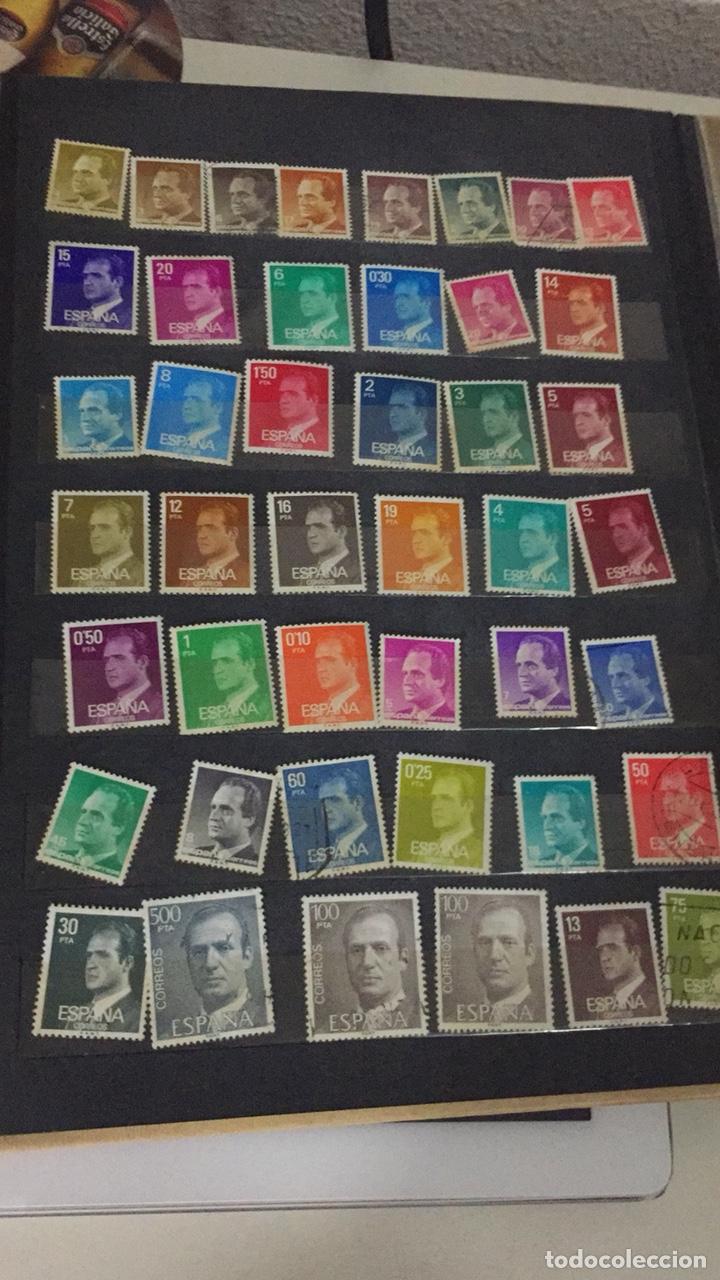 LOTE 44 SELLOS JUAN CARLOS I (Sellos - España - Juan Carlos I - Desde 1.986 a 1.999 - Nuevos)