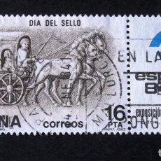 Sellos: 2719, SERIE EN USADO, CON VIÑETA. SELLO.. Lote 199186313