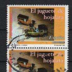 Sellos: TV_001/ ESPAÑA USADOS 2003, EDIFIL 3982, EUROPA. Lote 199259240