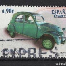 Sellos: TV_001/ ESPAÑA USADOS 2013, COCHES DE EPOCA. Lote 199259328