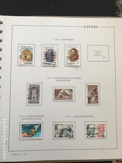 Sellos: Hojas Filabo 1978 con sellos España año completo usado sin montar HFS70 - Foto 3 - 199486442