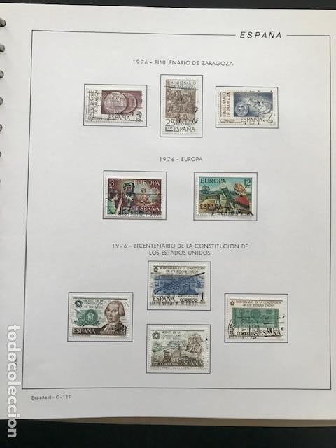 Sellos: Hojas Filabo 1978 con sellos España año completo usado sin montar HFS70 - Foto 5 - 199486442