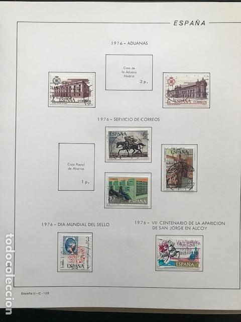 Sellos: Hojas Filabo 1978 con sellos España año completo usado sin montar HFS70 - Foto 6 - 199486442
