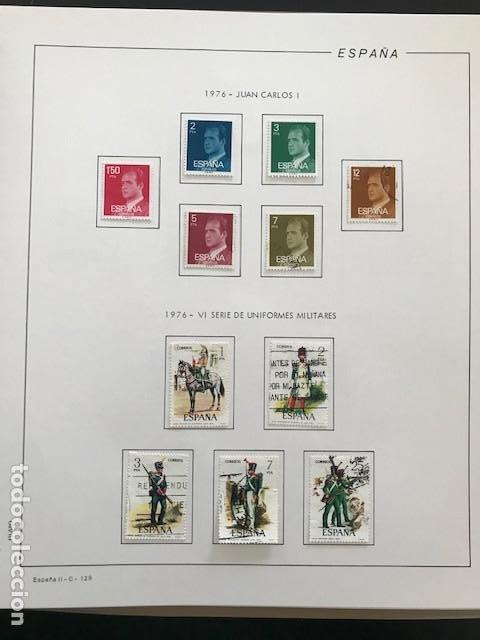 Sellos: Hojas Filabo 1978 con sellos España año completo usado sin montar HFS70 - Foto 7 - 199486442