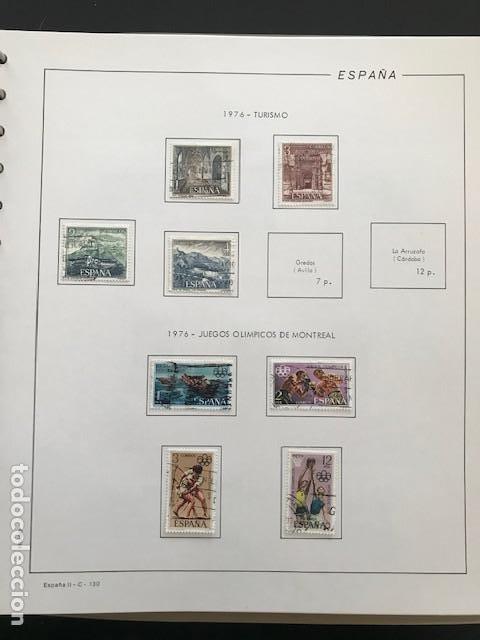 Sellos: Hojas Filabo 1978 con sellos España año completo usado sin montar HFS70 - Foto 8 - 199486442