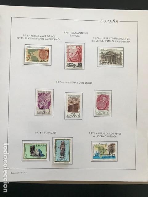 Sellos: Hojas Filabo 1978 con sellos España año completo usado sin montar HFS70 - Foto 9 - 199486442