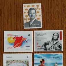 Sellos: LOTE DE 7 SELLOS TARIFAS B Y C (FOTOGRAFÍA REAL). Lote 199575122