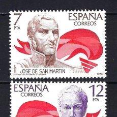 Selos: 1978 ESPAÑA - AMÉRICA - EDIFIL 2489/2490 - MNH** NUEVOS SIN FIJASELLOS. Lote 199979886