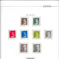 Sellos: ESPAÑA. COLECCIÓN DE SELLOS NUEVOS DE LOS AÑOS 1981 A 1990 AMBOS INCLUIDOS. Lote 200274592