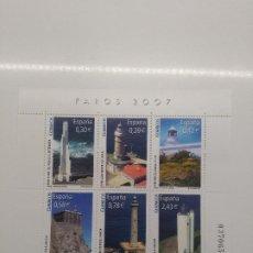 Sellos: ESPAÑA 2007 HOJA BLOQUE EDIFIL 4348 FAROS. Lote 200877002