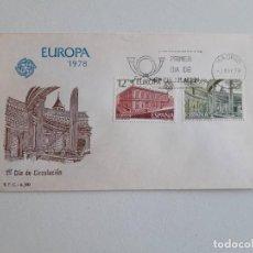Sellos: 1978 PRIMER DIA DE CIRCULACIÓN, EUROPA. Lote 201174625